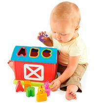 Brinquedo Fazendinha Encaixe Divertido Bright Starts