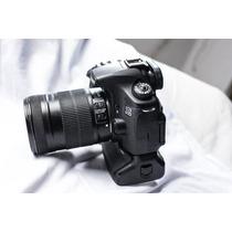 Canon Eos 60d Corpo+grip+lente 18-135mm