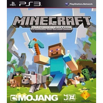 Minecraft Ps3 Edition Cod Psn Envio Na Hora