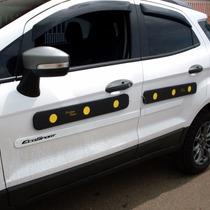 Protec Door Protetor Porta Carro P/4portas=2 Laterais=4peças