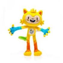 Pelúcia Vinicius Mascote Olimpíadas Rio 2016 30cm
