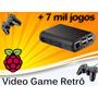 Vídeo Game Retro Raspberry Pi3 Recalbox 32gb 2 Controle