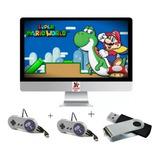 Super Nintendo Portátil 2000 Jogos + 2 Controles + Rapidez