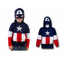 Blusa Infantil Heróis Personagens América Thor Homem Aranha