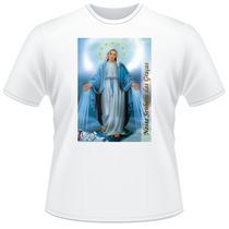 Camiseta Religiosa Católica - Nossa Senhora Das Graças