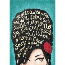 Bolsa Amy Frida Kahlo Marilyn Monroe E Outros Artistas