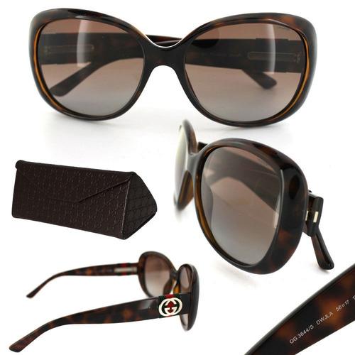 Óculos De Sol Feminino Gucci Original Importado Frete Grátis - R ... d3efa9b51e
