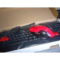 Kit Teclado E Mouse Gamer - Multimidia (hoopson)