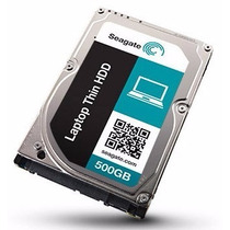 Seagate Laptop Thin 500gb 7200rpm Sata 6 Gb/s 32 Mb Cache