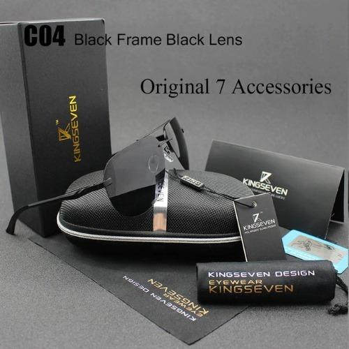45c2f900b Óculos De Sol Kingseven® Alumínio Polarizado Uv400 - Oferta