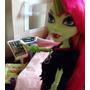 Miniatura Celular Para Bonecas Barbie Mh Eah Winx Pullip