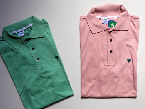 c79479c0b1 Kit 2 Camisas Pólo Masculinas Plus Size Últimas Peças