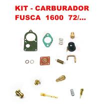 Kit Carburador Fusca/kombi 1600 72/... Solex Simples