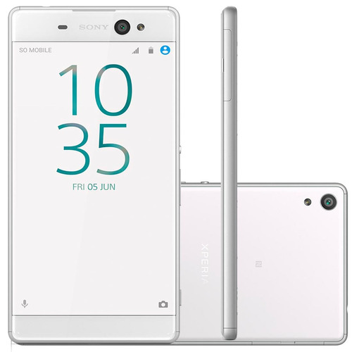 Smartphone Sony Xa Ultra F3216 Branco - Dual Chip, 4g