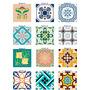 Adesivo  Para Azulejos  Português 30x30cm