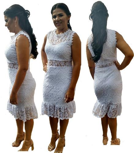 1ce69c81a Vestido Noiva Casamento Civil Cartório Renda Guipir à venda em Sumé Paraíba  por apenas R$ 139,00 - CompraMais.net Brasil