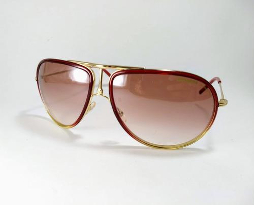 38b0215a6a4f5 Oculos De Sol Carrera 15 Xe0f5 Vermelho. R  399