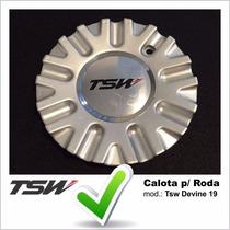 Calota Tampa Centro De Roda Tsw Devine Aro 19 C/ Emblema