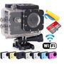 Camera Sportcam X7000com Wifi+cartão De Memória 16gb+bateria
