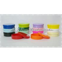 100 Mint To Be Coloridas Latinhas Em Plástico Lembrancinhas