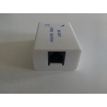 Kit Com 10 Filtros De Linha Sp 201 Adsl Splitter