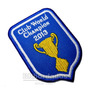 Vmg001 Volei Sada World Champions 2013 Patch Bordado 6x8,5cm