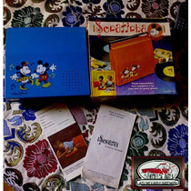 Antiga Vitrola Infantil Sonatinha (sonata) Mickey Mouse