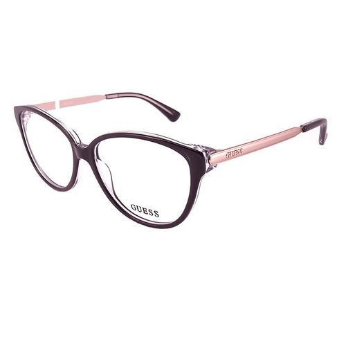 6b6243bc7 Armação De Óculos De Grau Guess Feminino - Gu2488 003