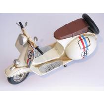 Miniatura Retro Moto Vespa/lambreta Vintage Metal Decoração