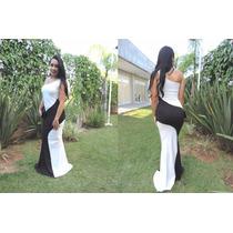 Vestido Da Moda Longo Instagram Aniversário Festas