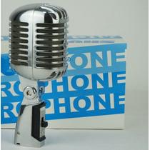 Microfone Vintage Classico Frete Grátis Shure 55sh