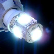 Par Lâmpada Pingo 5 Leds T10 Xenon Ultra Brilho
