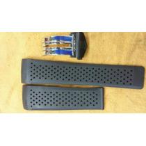 Pulseira Tag Pendulum 22mm 24mm Com Fecho Deployant