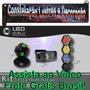 Kit Baladas C/ Globo + Canhão + Strobo 127v - Frete Grátis
