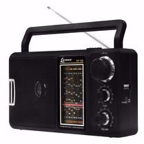 Rádio Portátil Lenoxx Rp69 Am/fm C/sintonizador De Tv Bivolt