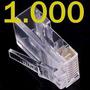 Kit 10.000 Unidades Conector Rj45 Cat5e Rede Lan