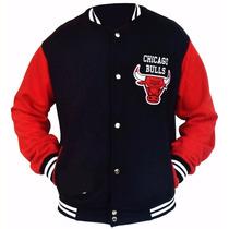 Jaqueta College Varsity Chicago Bulls Envio Gratis!