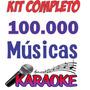 Kit Karaokê Videoke Com 100.000 Músicas - Envio Imediato