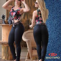 68d2391f9 Calça Feminina Empina Bumbum Bengaline Biotipo Jeans Barato à venda ...