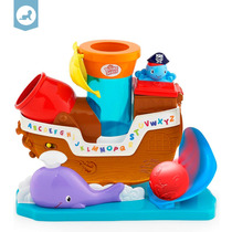 Brinquedo Infantil Bebe Navio Pirata Pop 'n Rock Bright Star