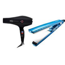 Kit M|q Hair - Secador 2000w Prancha Alisadora Nano Titanium