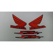 Kit Adesivos Honda Fan 125 2011 Es Preta
