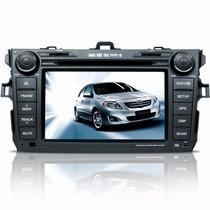 Central Multimidia Toyota Corolla Dvd Tv Gps Bluetooth Sd