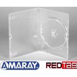 100 Box Dvd Amaray Transparente Original
