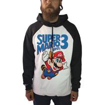Blusa Super Mario Camisetas Moletom Games Nintendo Herois