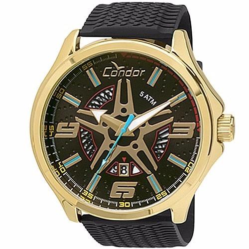 Relógio Condor Masculino Calotas - Co2115vx / 8p