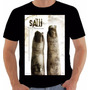 Camiseta Poster Original Filme Jogos Mortais 2 Saw Ii