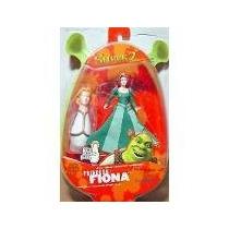 Shrek 2 - Princess Fiona - Boneca Action-figure Gulliver