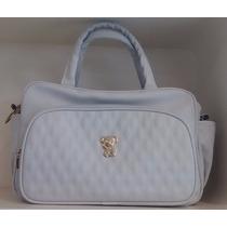 Bolsa Golden Grande Classic For Baby Bags - Azul Claro