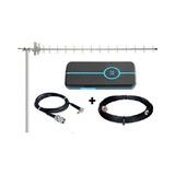 Kit Completo Internet Rural Antena + Cabos + Modem 3g Desbl